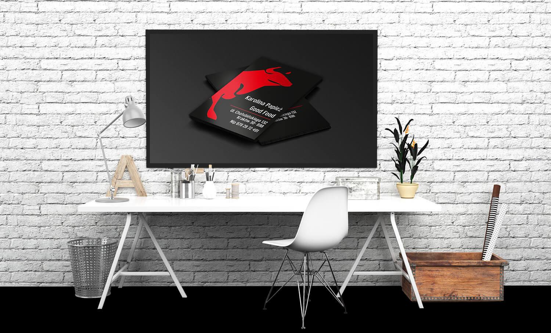 ulotki z czerwonym bykiem prezentacja