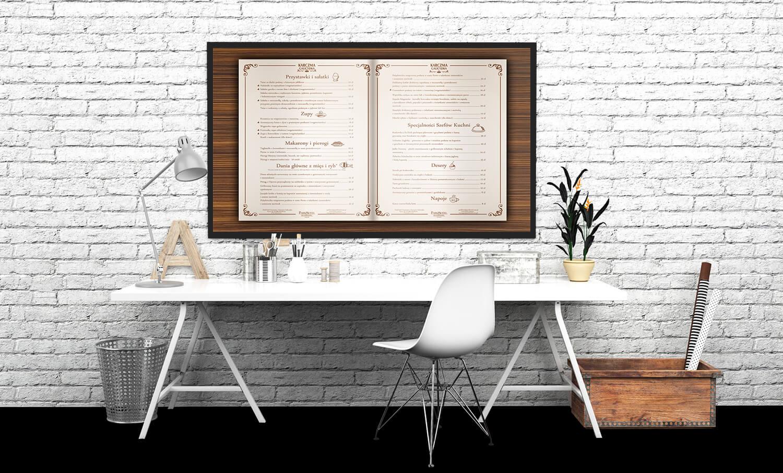 prezentacja karty menu
