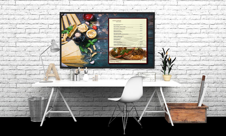 menu prezentacja i art. spożywcze