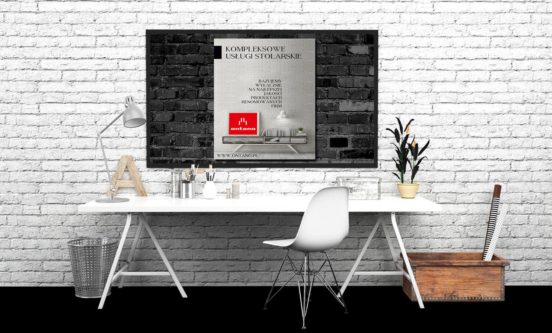 reklama usług stolarskich