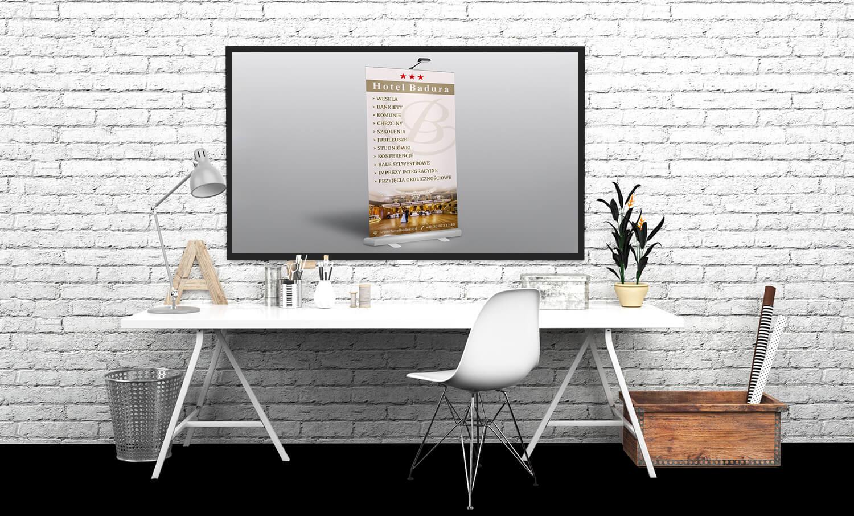 prezentacja menu hotelu badura